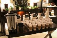 33 hot drinks bar is essential for a snowy wedding