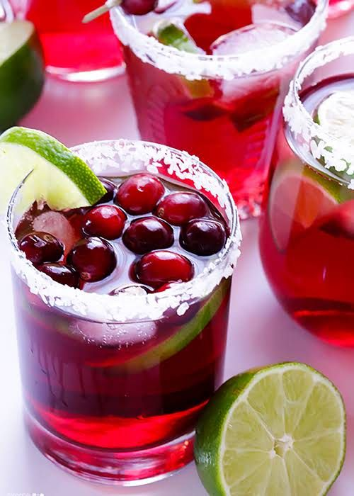 cranberry margarita for your cocktail bar