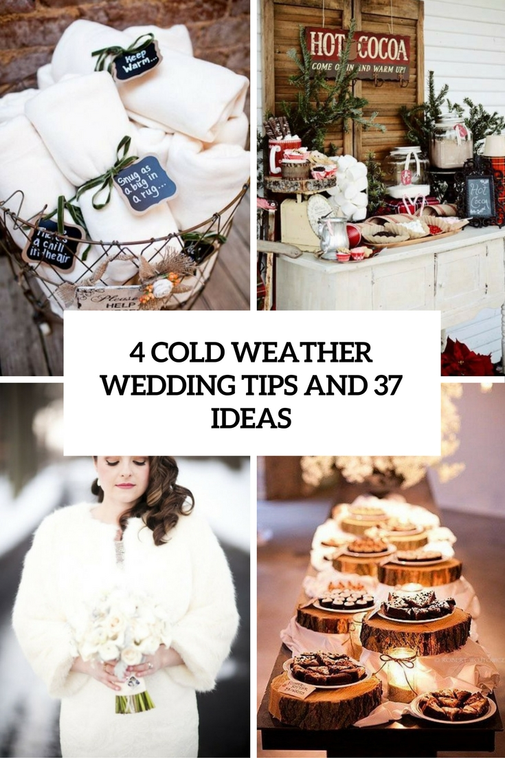 4 cold weather wedding tips and 37 ideas cover