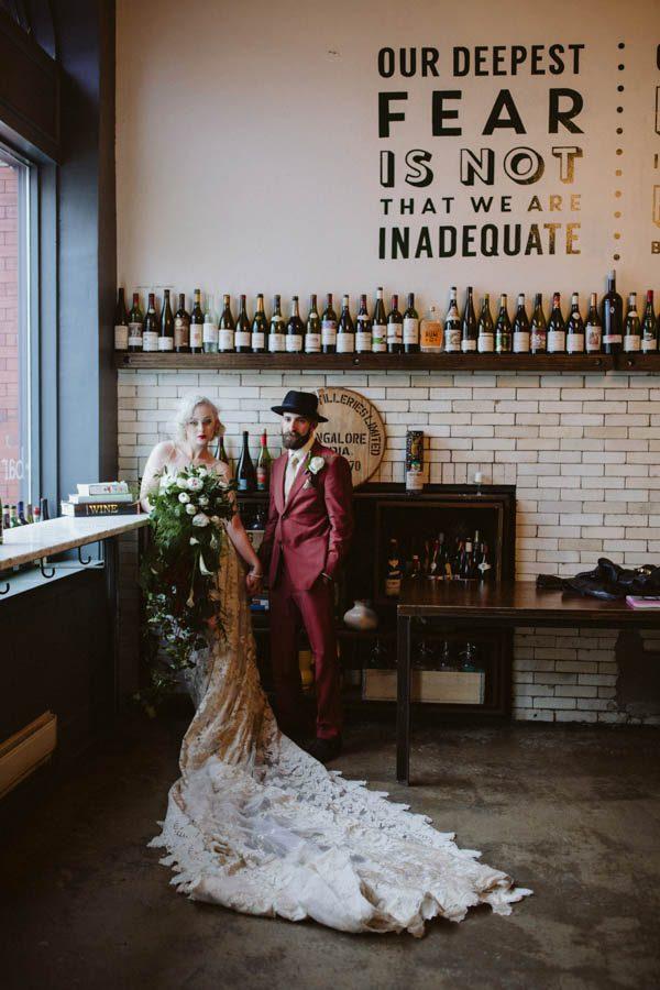 Vintage Industrial Wedding In Pittsburgh