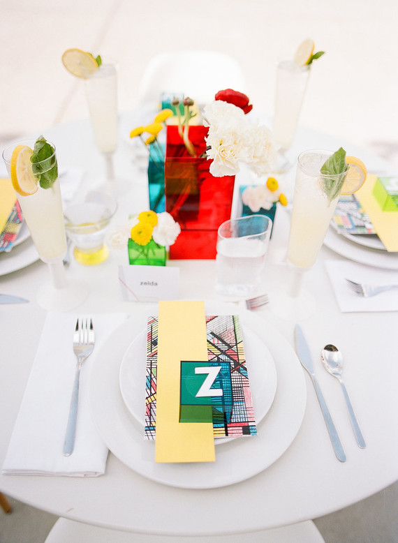Edgy Wedding Shoot With Bold, Colorful Touches