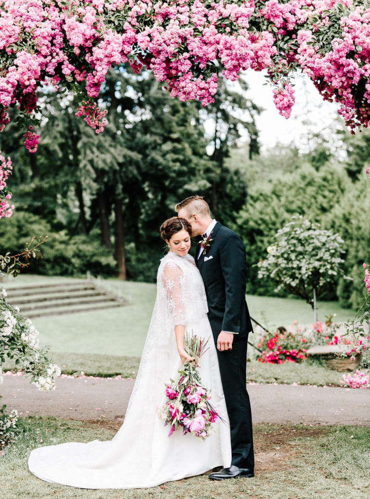 Lush Floral Inspired Wedding In Oregon
