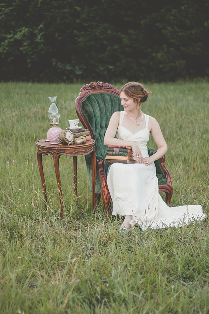 Beautiful Jane Austen Wedding Shoot