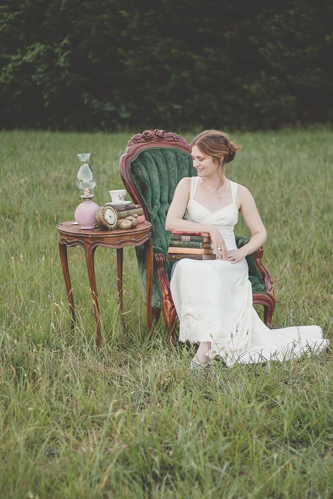 Beautiful Jane Austen Wedding Shoot