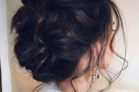 03 braided updo with tiny locks all over