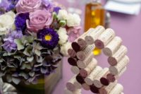 03 wine bottle cork table numbers can be easily made in a couple of minutes
