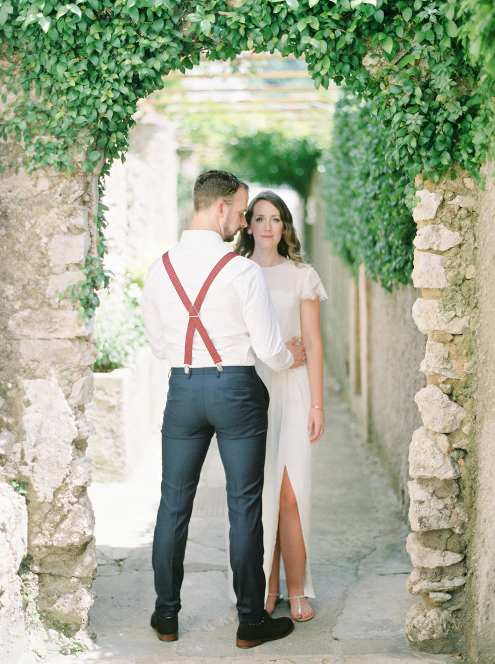 Capri is one of the best places to get married due to the mild climate and historical spaces