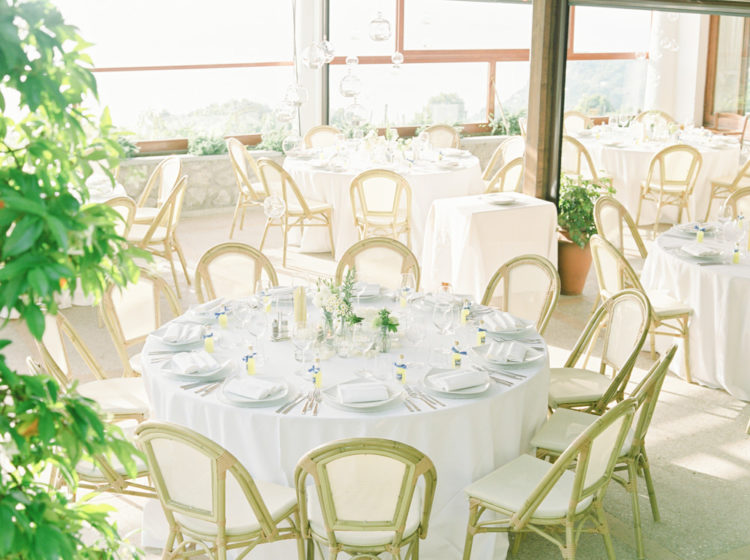 The reception was light-filled, organic and very inviting