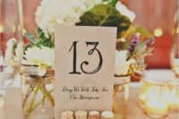 05 tied wine corks and cardboard with table numbers placed into them