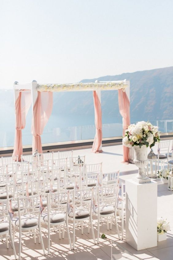this ceremony spot is just jaw-dropping