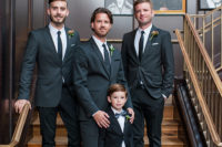 07 The groom and groomsmen were rocking classic black tuxedos