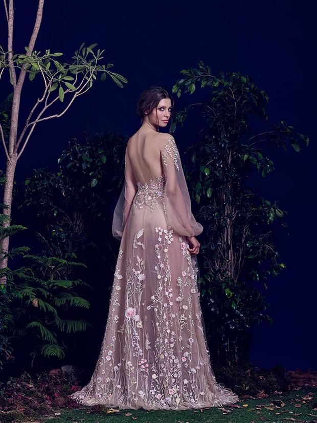 Plus Size Victorian Wedding Dresses 16 Simple Backless mauve wedding dress