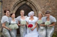 08 grey shrugs and silver sequin maxi gowns look festive