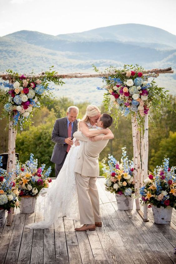 36 Wood Wedding Arches Arbors And Altars