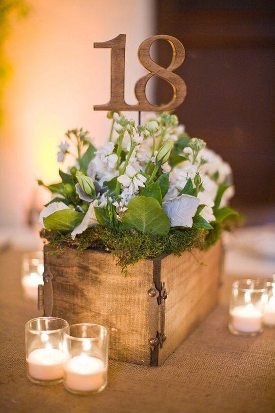 Ultimate wedding table number guide ideas weddingomania