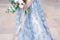 25 unique patterned wedding gown