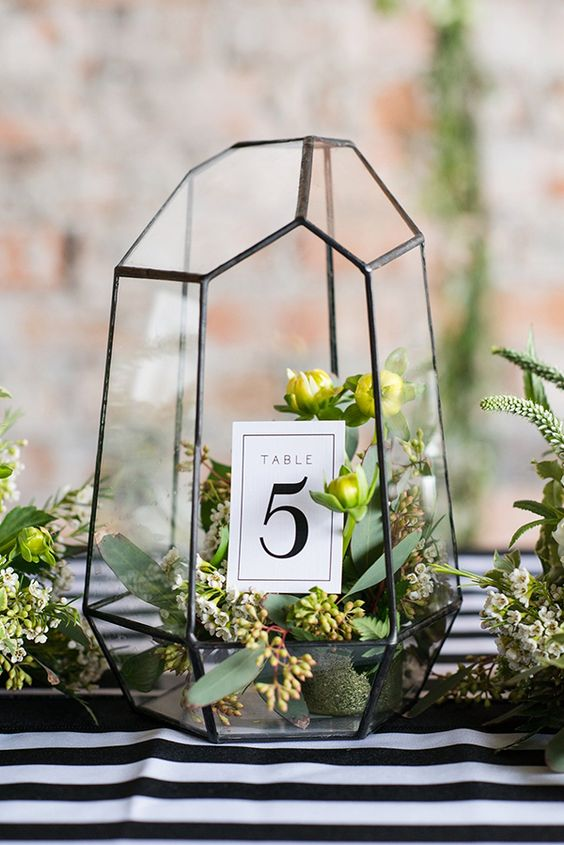 Picture Of Terrariums Are Hot For Wedding Decor You May Use Them As