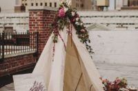 36 create a cool teepee and picnic setting for intimate photos