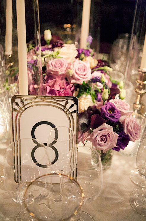 Ultimate Wedding Table Number Guide: 40 Ideas - Weddingomania