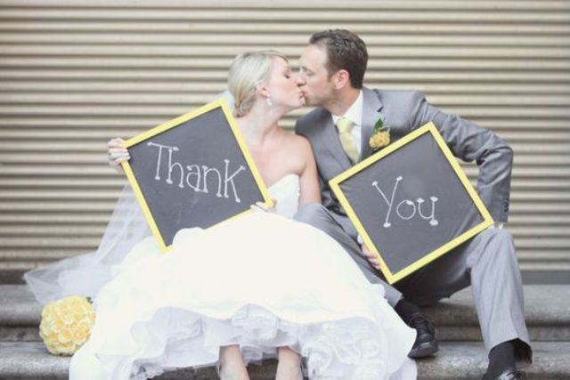 yellow and grey wedding decor and atiire