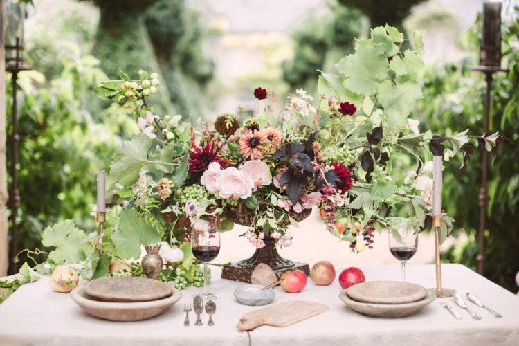 Secret Garden Wedding Shoot In A Lost Orangery