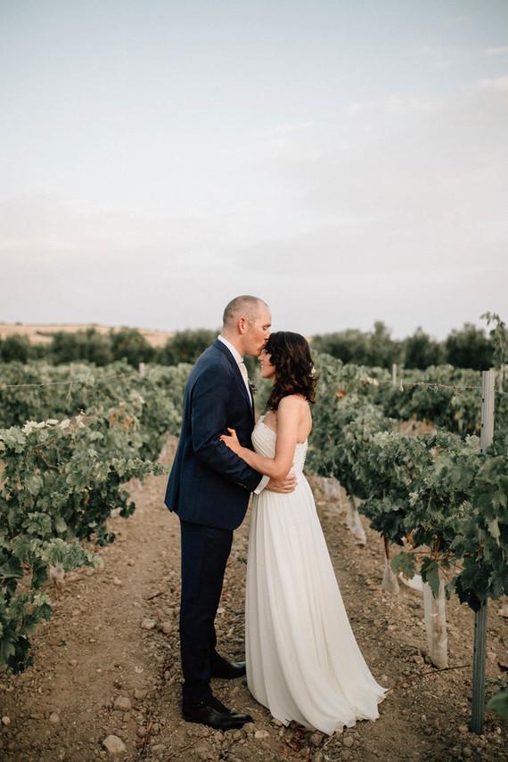 Rustic Homey Fall Wedding In Dusty Hues