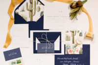 succulents invitations