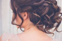 04 chic and messy curled updo looks very trendy