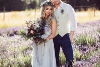 06 get married in a lavender field