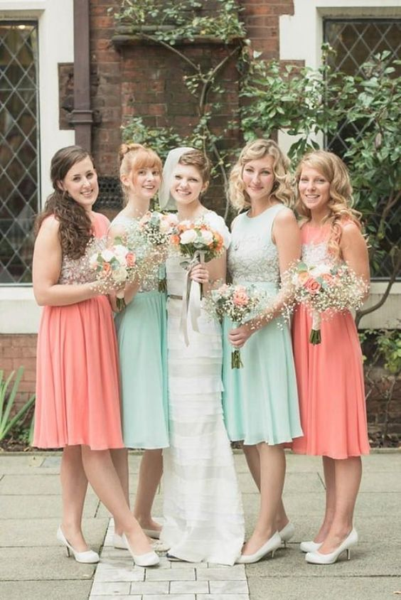 41 Delicate Peach And Mint Wedding Ideas Weddingomania