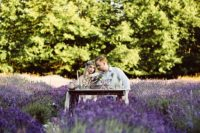 07 Lavender fields are fantastic for every kind of shoot, from an engagement to a wedding one