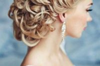 07 braided and curled updo with cool textures