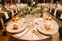 08 The floral centerpieces were made delicate and subtle, in ivory and blush shades