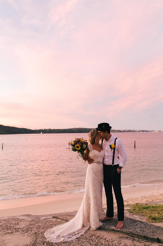 Sydney offers amazing beaches to get married there, get inspired