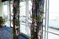 14 cherry blossom wedding arch can be installed both indoors and outdoors