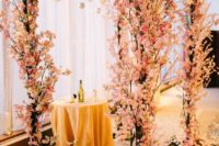 16 lush cherry blossom wwedding chuppah to try