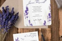 20 put lavender on your stationery, too