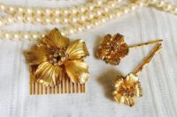 21 tuck an antique hair pin into your updo