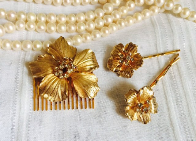 tuck an antique hair pin into your updo