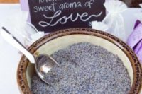 23 lavender to make sachets yourself is a great idea for guest favors