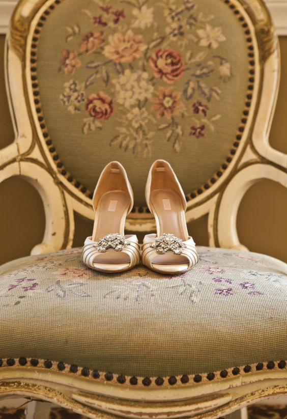 29 grandmother's wedding shoes to be worn at your vintage wedding