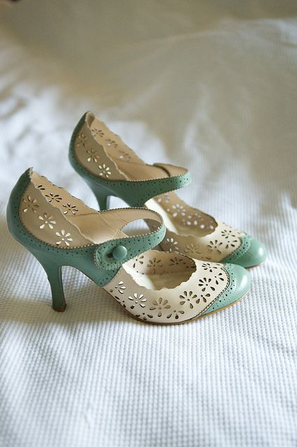 lovely vintage shoes from your grandma