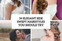 34 elegant side swept hairstyles you should try cover