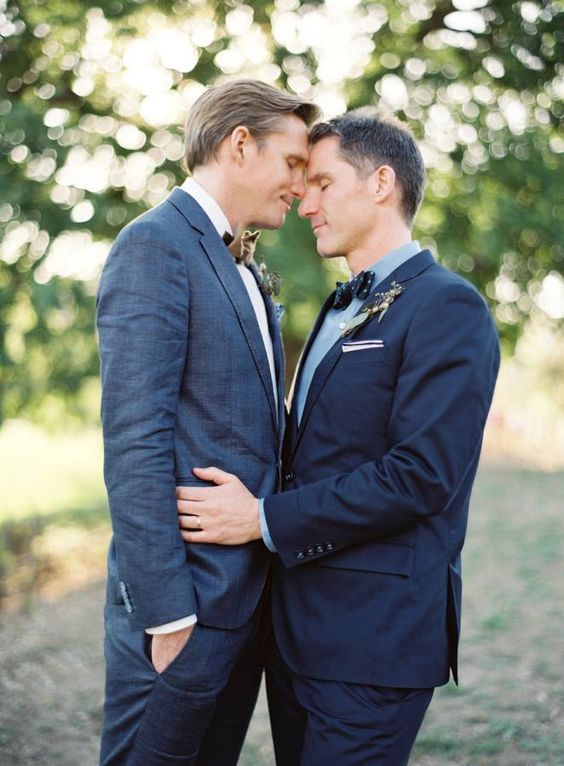 44 Stylish Gay Groom Outfits That Inspire - Weddingomania
