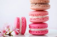 37 cherry blossom macarons look and taste gorgeous
