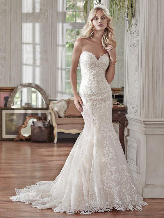 Wedding Dress With Ruching 58 Elegant bold lace appliqu s