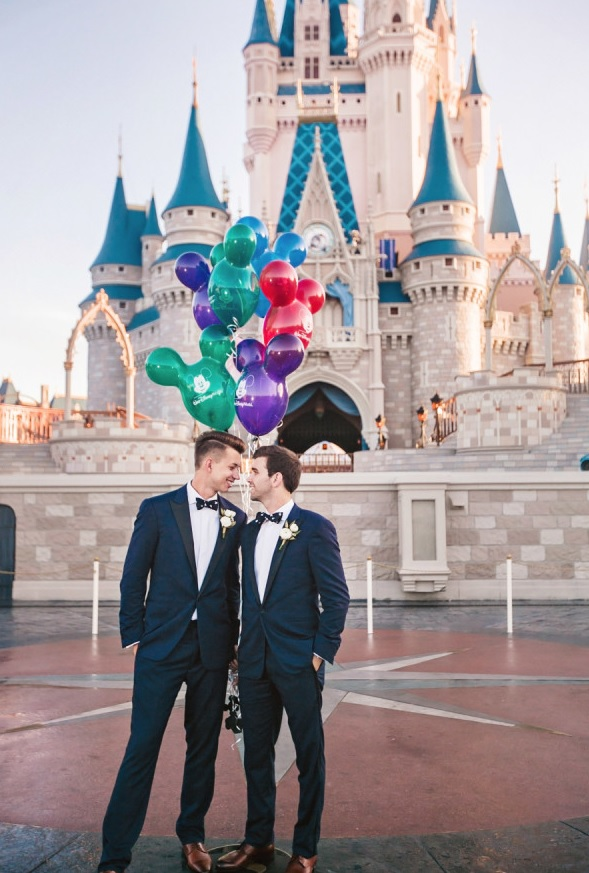 Dreamy Disney-Themed Same Sex Wedding