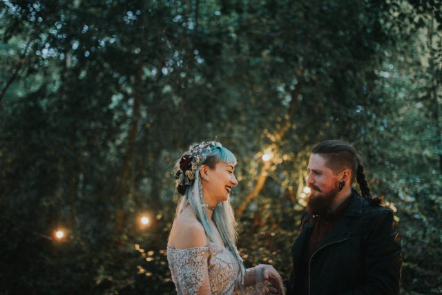 Pagan Folklore Wedding In The Forest