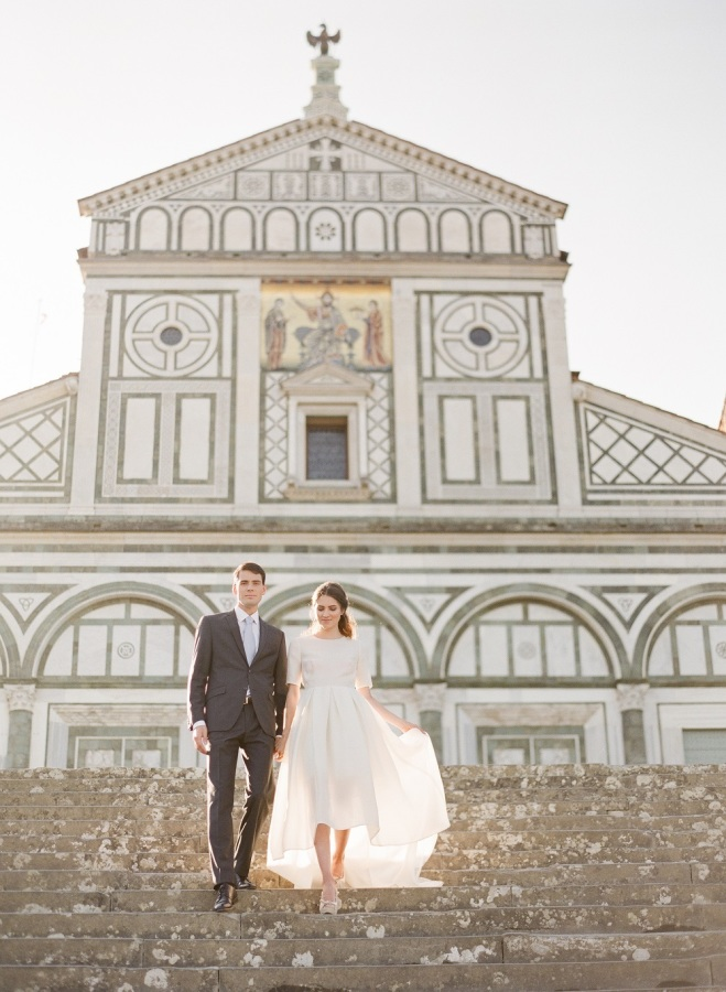 You don't need much decor or backdrops when you have Florence around you