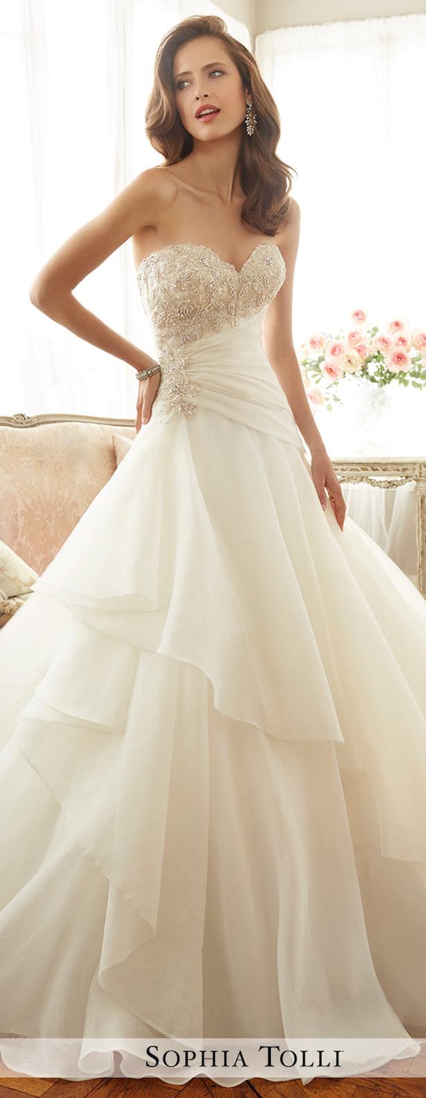 Sophia Tolli Wedding Gowns 88 Nice  sweetheart neckline wedding
